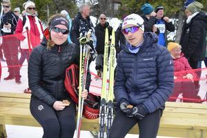 Camilla Kjelsaas och Tobias Borgen Hov från Oslo var nöjda med lopet.