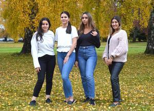 Berfin Malak, Sultan Bogazkaya, Magda Jalloul och Melissa Yasar vill genom sitt  UF-företag, 2nd Generation,  lyfta problemet med att känna sig splittrad mellan olika kulturer.