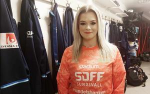 Isabelle Nordlund är ny målvakt i SDFF.