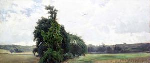 Målning av Axel Fahlcrantz.