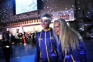 Alma Brolin och Alice Hagberg gör sitt första VM tillsammans.