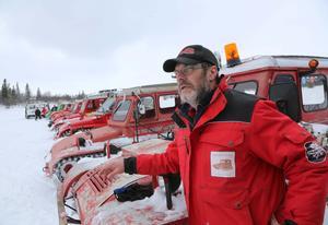 Som mest har 18 vesslor varit med. Folk åker från hela Sverige för att vara med, säger Göran Persson.