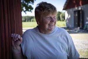 Elin Eriksson är den enda kycklingproducenten i Dalarna förutom ett äldre par i Hedemora.