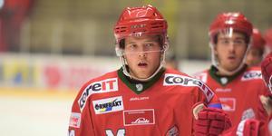 Oscar Pettersson har ett utgående kontrakt, men innan det går ut ska han spela om medaljerna i J20-SM i Nyköping.