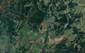 Brygghusvägen 16 i Skövde. Foto: Google Maps