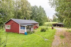 7 826 klick på Hemnet fick detta fritidshus i Sunnansjö, Ludvika kommun, under förra veckan. Det räckte till en andraplats på Dalarnas Klicktoppen. Foto: Carina Heed/Kristian Sundberg