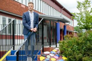 Jimmy Nordengren är ny rektor på Fröviskolan och kommer närmast från en rektorstjänst i Kumla.