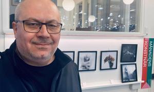 Garbis Sarafian är ordförande för föreningen Höglandets konstronda.