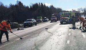 Flera bilister blev vittnen till dödsolyckan. Den åtalade Hebybon har erkänt att han orsakade krocken men har inga minnen av eller någon förklaring till vad som egentligen hände.