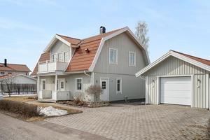 På tredje plats på Klicktoppen, för dalaobjekten på Hemnet, finns denna villa i Falu kommun. Foto: Eric Böwes