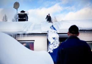 Bild: Johan Engman/ArkivEtt normalt villatak ska klara stora snömängder.