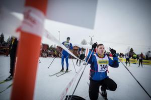 Niklas Rang åkte för Mullsjö kommun, lag 1. Han tyckte det var fantastiskt roligt och vill göra om det.