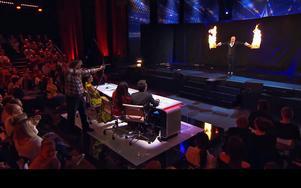 Framträdandet blev en succé. Foto: TV4