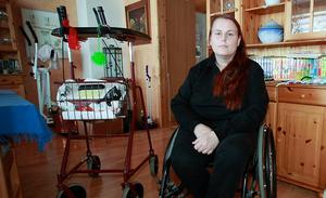 Bodil Berggren har tidigare stött på problem i sjukvården. År 2012 fick hon allergisk reaktion mot en smärtstillande tablett. Arkivbild.