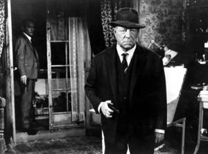 Jean Gabin som kommissarie Maigret i filmen