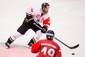 Förra SSK-spelaren Linus Klasen är en av nyckelspelarna i HC Lugano. Foto: Bildbyrån