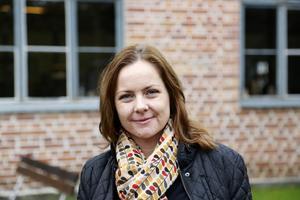 Museichefen Erika Grann räknar med att minska personalstyrkan med 1,75 tjänster.