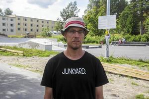 Conny Björklund, ordförande i Söderhamns skateboardförening.