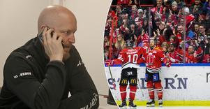 Örebro Hockeys sportchef Niklas Johanssons arbete hamnar ofta i fokus när det inte går som man vill på isen. Och inte minst under sommaren, då supportrarna har svårt att ge sig till tåls när det gäller lagbygget. En situation man måste lära sig att acceptera, eller helst gilla, enligt Johansson själv. Bild: Lasse Wirstrom, Johan Bernström/Bildbyrån