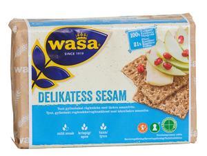 Wasa, Delikatess sesam.