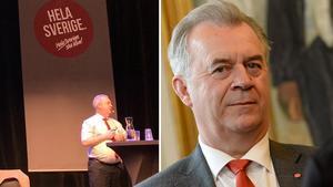 Sven-Erik Bucht (S) invigningstalade på Landsbygdsriksdagen.
