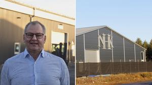 Roine Söderlund, säljansvarig, räknar med framtida nyanställningar efter köpet av Sundsvallsföretaget.