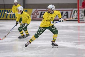 Elias Swartswe gjorde Ljusdals första mål den här säsongen.