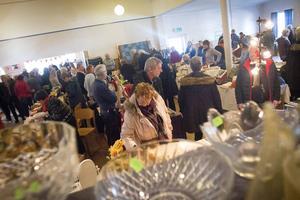 Över tusen besökare letade sig till Norrbos hantverksmässa under långfredagen.