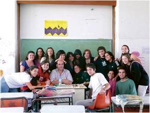 Min klass 8vo HCS 1. Bild: Privat.