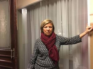 Eva Eriksson, husfru på Näringslivsbolaget.