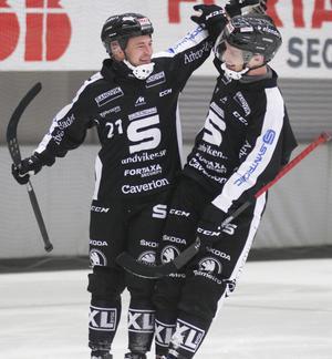 Sandvikens Christofer Edlund har gjort 3–0