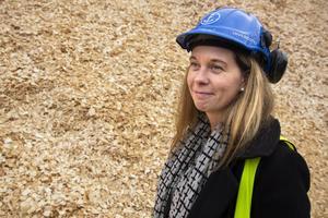 Anna Mårtensson, miljöchef Iggesunds bruk.
