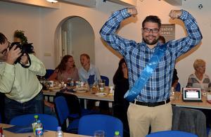 Jonas Hillerström (KD) känner sig som en vinnare.