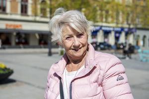 Solveig Karlsson, 78 år, pensionär, Stockholm: