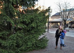 Snö? Gärna, annars önskar sig Moa Eld och fyraåriga dottern Bella en grön jul.