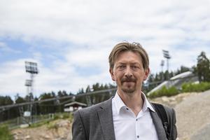 Joakim Storck (C) Kommunalråd och kommunstyrelsens ordförande i Falun.