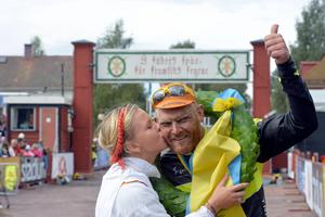 Johan Landström var först över mållinjen i Cykelvasan 2014 – nu hoppas han kunna göra samma sak igen.