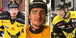 Jimmie Jansson, Jesper Johansson och Alexander Younan. Foto: Arkiv