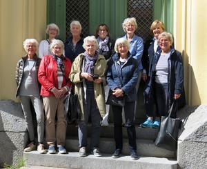 Övre raden: Mari-Anne Claesson (Persson), Britta Hultqvist (Gustavsson), Anita Håkansson (Ramfelt), Ulla Bergman (Persson), Inga-Carin Lobenius (Nilsson) Nedre raden: Anita Söderman (Orre), Kerstin Olsson(Pettersson), Ingrid Berleen (Olsson), Barbro Nordström (Hansson) och Anneli Nillbrand (Volotinen).