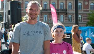 Johan Berggren och Leo Berggren hade åkt från Skellefteå för att delta i turneringen.