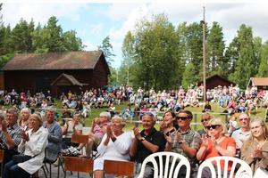Ludvika kommun meddelar att det görs ändringar i Dan Andersson-veckans program. Detta är på grund av brandrisken som råder. Ett par arrangemang ställs även in. Bilden är tagen i samband med Dan Andersson-veckan 2017.
