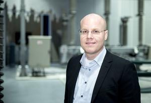 Tobias Hansson, ABB:s nya platschef i Ludvika. Foto: ABB