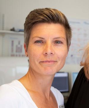 Hanna Odén Poulsen, verksamhetschef för laboratoriemedicin i Region Jönköpings län. FOTO: Alexandra Svedberg, Region Jönköpings län.