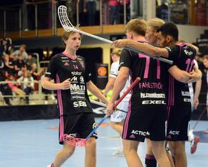 Malte Lundmark stod för ett mål och en assist i matchen mot Mullsjö.