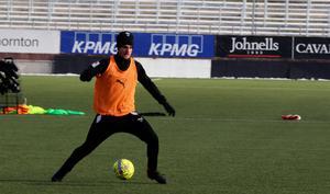 Johan Mårtensson får rollen som  grovjobbare på planen i år.