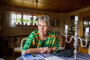 Jag är mycket orolig för Fikru Maru förklarar Margareta Sidenvall, Hudiksvall, vid Aktionsgruppen för Fikru Marus rättvisa.