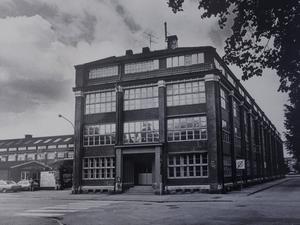 Oscariahuset, i dag Virginska gymnasiet, ritades av arkitekten Vilhelm Renhult och uppfördes 1914. Det  imponerande komplexet byggdes sedan ut etappvis.  Foto: NA/arkiv