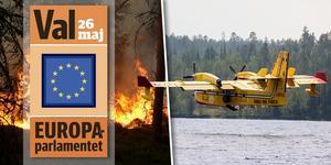Vid bränderna i Hälsingland sommaren 2018 fick Sverige hjälp med brandplans från EU:s gemensamma räddningsorganisation.
