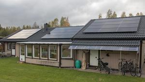 Fattah Hamadi installerade en solcellsanläggning i augusti.