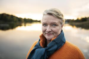 Foto: Karin Wesslén/TT. Anna Takanen debuterar som författare med romanen